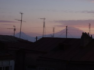 picture of antennas and Ararat
