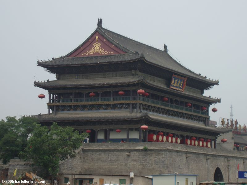 The Drum Tower in Xi'an, Shaanxi, China