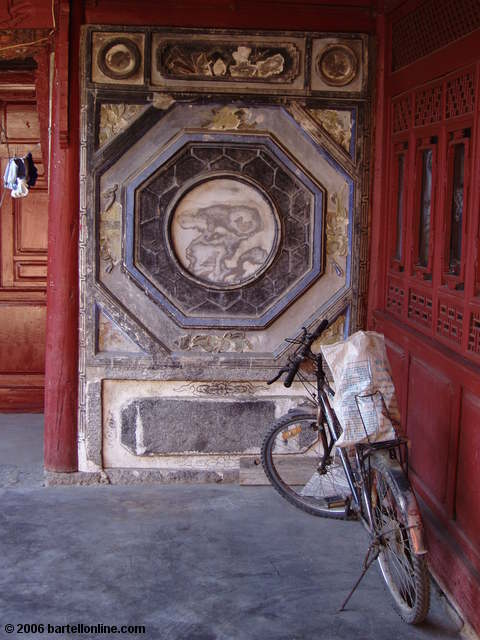 Traditional Bai architecture in a village outside of Dali, Yunnan, China