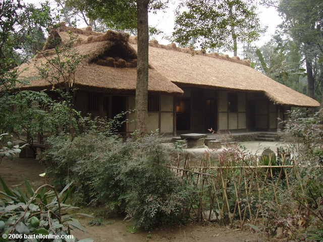 Replica of Du Fu's Thatched Cottage in Chengdu, Sichuan, China
